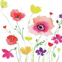 Quayside Gallery Card Collection - Watercolour Flowers