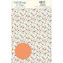 Gift Wrap & Tags - Multicoloured Spots