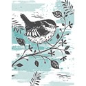 RSPB Card - Wild Meadow Card - Little Wren