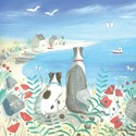 Quayside Gallery Card Collection - Beach Dogs