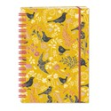 RSPB Natures Print - Hardcover Notebook (A5 Wiro) - Beautiful Birds