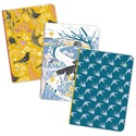 RSPB Natures Print - A6 Mini Notebooks - Swallows/Fox/Birds