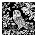 RSPB Natures Print Card - Owl & Moon