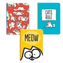Simon's Cat Stationery - Mini Notebooks (A6) - Cats Rule