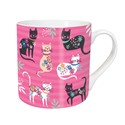 Tarka Mugs - Cat Pattern