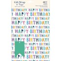 Gift Wrap & Tags - Happy Birthday