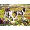 Rectangular Jigsaw - Spaniels On Moor