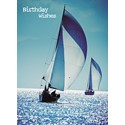 First Class Male Card - Sailing