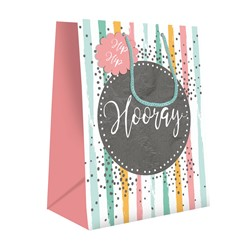 Gift Bag (Medium) - Hip Hip Hooray Stripe