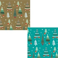 [Pre-Order] Christmas Wrap & Tags Bumper Pack - Little Trees